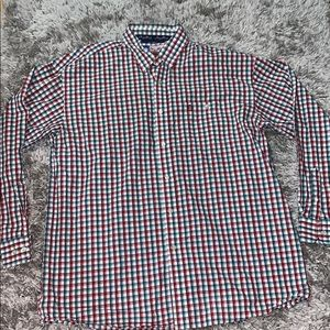 George Strait cowboy cut by wrangler button down